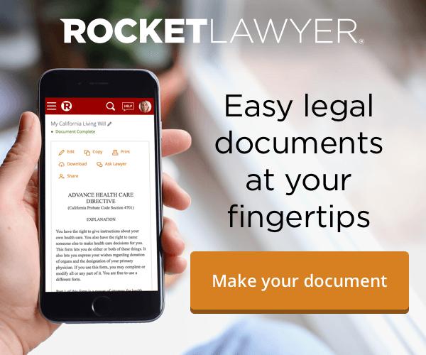 Rocket Lawyer Mobile v2 easy legal documents | VueDirectory